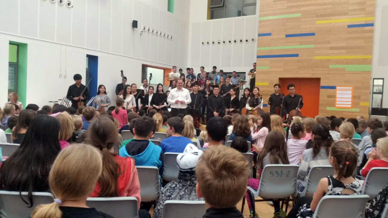 Konzert in der German School Shanghai