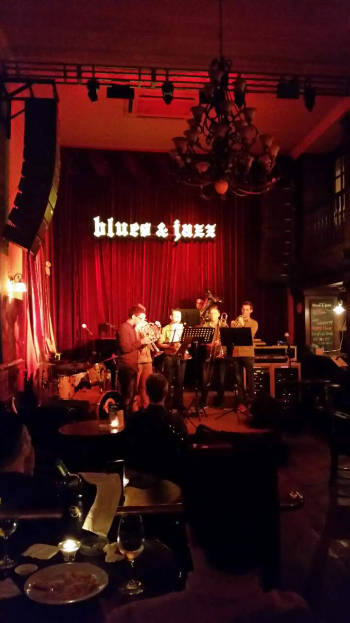 Konzert im Haus of Blues and Jazz